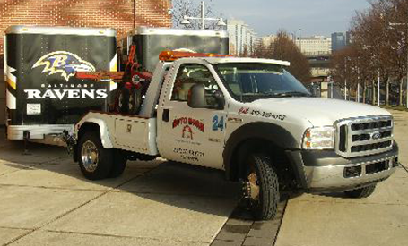 Tow Truck With Trailers